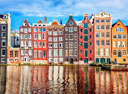 dancing house: Houses in Amsterdam
