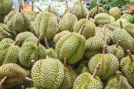 spikey: Durian Stock Photo