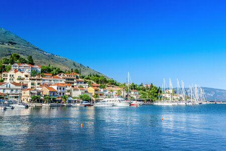ionian: Coast of Kefalonia island in Agia Efimia village, Greece
