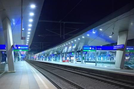 city traffic: Railway station