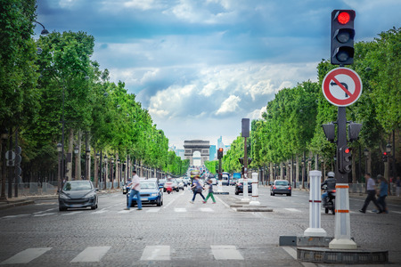 champs elysees quarter: View the Champs Elysees