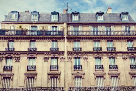 Facade of Parisian building