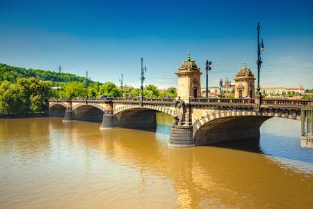 legion: Legion bridge Prague, Czech Republic