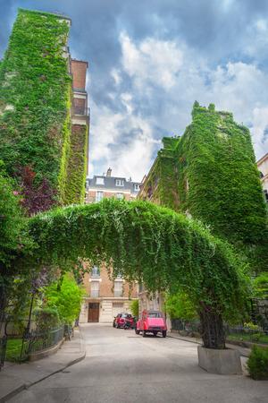 Courtyard in Paris Reklamní fotografie