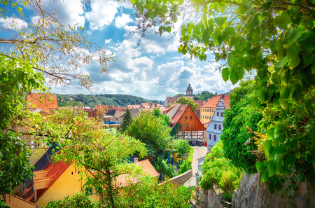 Old town of Meissen, Germany Stock Photo