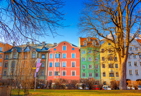 Street of Innsbruck 写真素材
