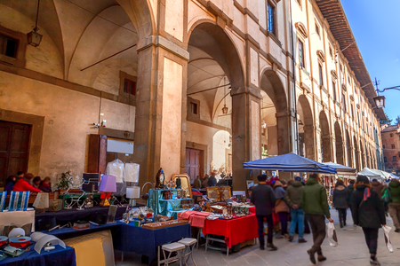 The Antique Market in Arezzo