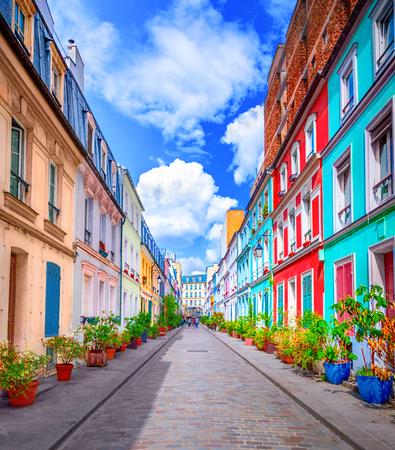 Street in Paris Foto de archivo