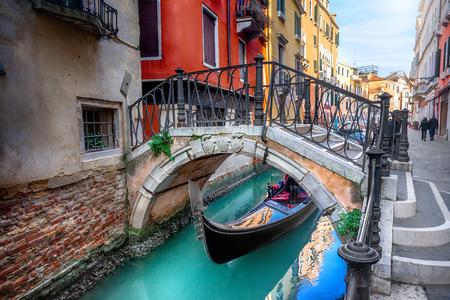 Bridge in Venice, Italy Stok Fotoğraf