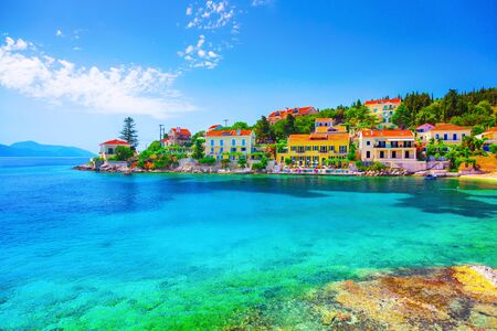 Fiskardo Dorf, Insel Kefalonia, Griechenland