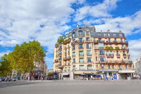 Boulevard du montparnasse, Paris, France Banque d'images
