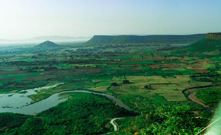 green valley of madhya pradesh india