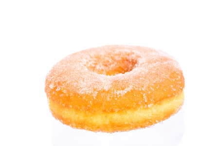 sugary: sugary donut isolated on a white background