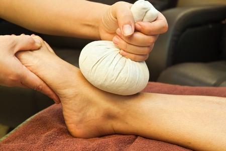reflexologie: massage des pieds de la r�flexologie, soin des pieds spa, Tha�lande