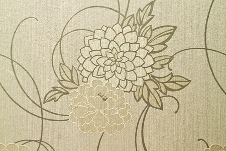 posh: Beautiful wallpaper with floral design
