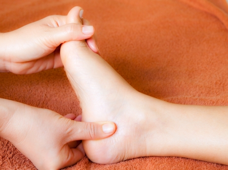 pamper: reflexology foot massage, spa foot treatment,Thailand