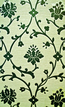 tactile: Beautiful wallpaper with floral design