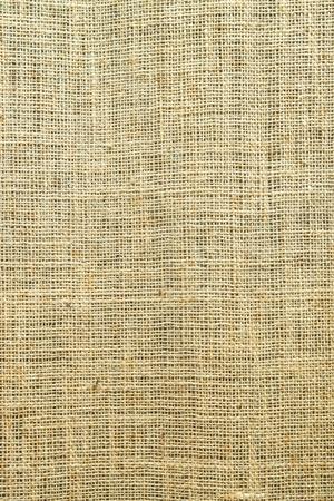 sacco juta: Close-up di tela naturale per lo sfondo e texture
