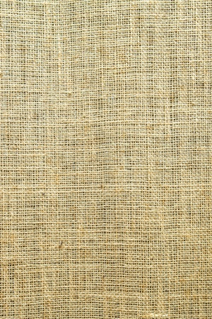 Close-up of natural burlap for Background  and texture