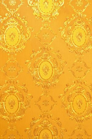 scrap gold: Old gold wallpaper : Traditional Thai style
