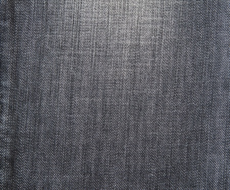 Old Black jeans fabric as background photo
