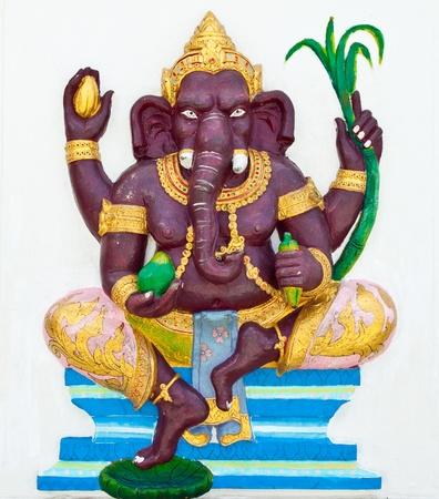 Indian or Hindu God Named Bala Ganapati at Wat Saman, Chachoengsao, Thailand Stock Photo - 10371387