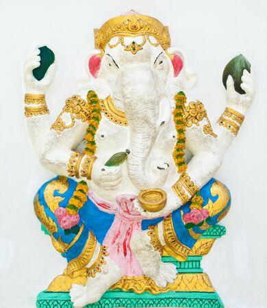 Indian or Hindu God Named Bhakti Ganapati at Wat Saman, Chachoengsao, Thailand Stock Photo - 10371386