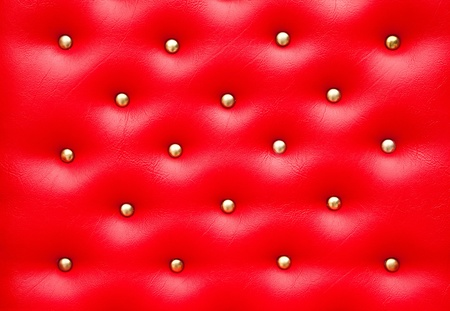 Red leather pattern with knobs,Texture for Background photo
