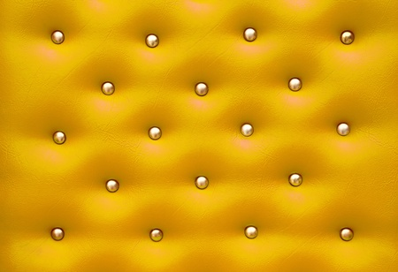 Golden leather pattern with knobs,Texture for Background photo