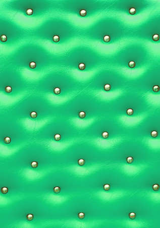 Green leather pattern with knobs,Texture for Background photo