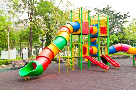 Colorful playground in a city Stock Photo - 12933840