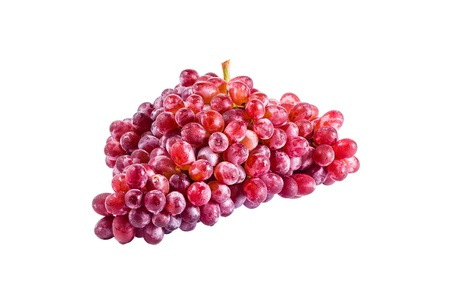 red grape isolated on white Stock Photo - 16403575