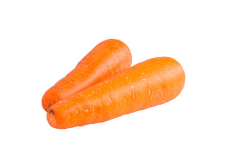 carrots isolated on white background,with clipping path Stock Photo - 16757014