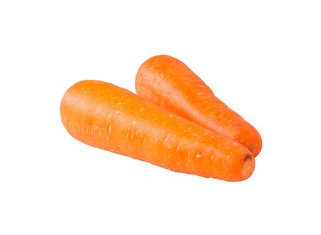 carrots isolated on white background,with clipping path Stock Photo - 17009152
