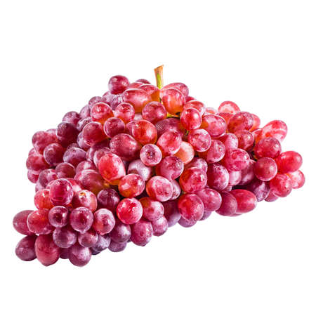red grape isolated on white with clipping path Stock Photo - 17255039