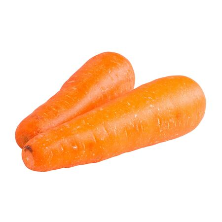 carrots isolated on white background,with clipping path Stock Photo - 17255063