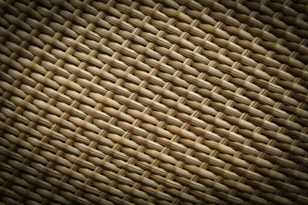 synthetic: texture of synthetic rattan weave
