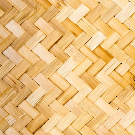 Native Thai style bamboo weave photo