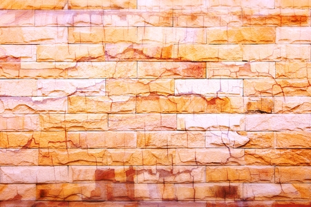 brick wall texture abstract for background photo
