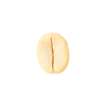 unroasted: unroasted coffee beans isolated on white background  Stock Photo