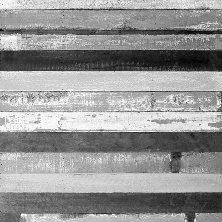 black and white rough wood plank abstract for background photo