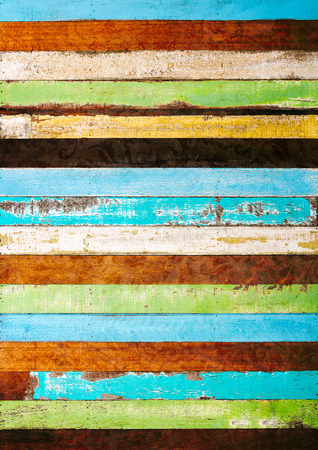 vintage rough wood plank abstract for background photo