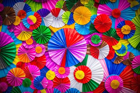 grafiken: Bunte Papierblume abstrakten für Hintergrund