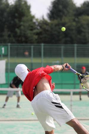 Tennis player 写真素材