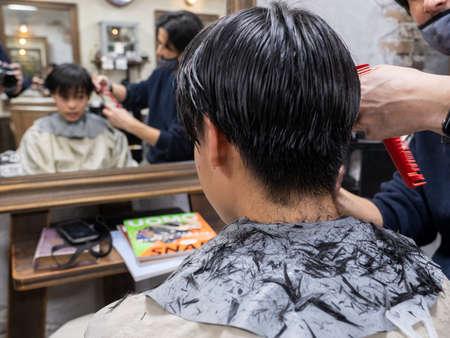 Barber Banque d'images