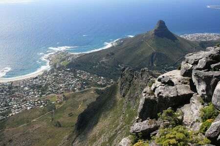 capetown: Capetown Camps Bay Stock Photo