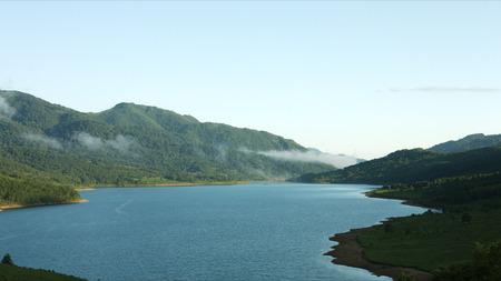 zoomed: Lake Nozori morning little zoomed up Stock Photo