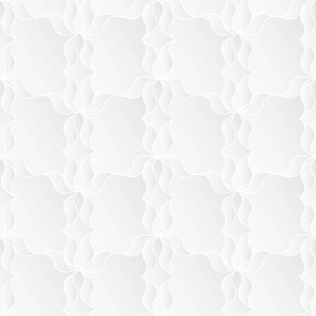 Neutral White Floral Texture