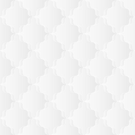 tessellate: Neutral White Ribbon Trellis Texture