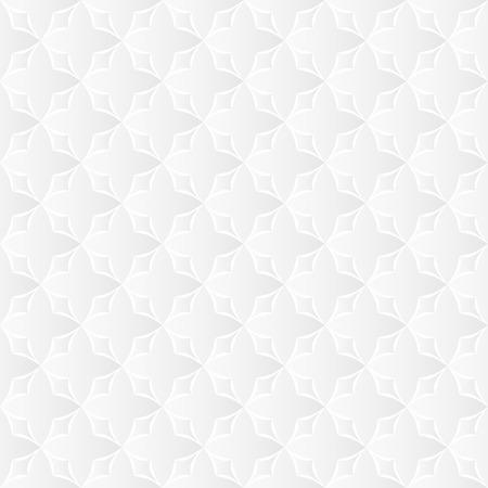 seamlessly: Neutral White Geometric Texture